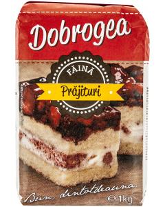 Faina alba pentru prajituri Dobrogea 1kg