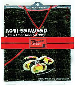 Alge de mare pentru sushi Thai Choice 14g
