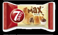 Croissant cu crema de cacao 7Days Max 85g