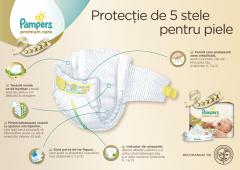 Scutece Premium Care marimea 5, 11-16kg, Pampers 88buc