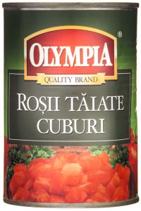 Rosii taiate cuburi Olympia 400g