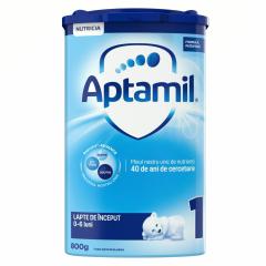 Lapte de inceput premium 0-6 luni Aptamil 800g