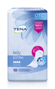 Absorbante pentru incontinenta Tena Lady Extra 10 buc.