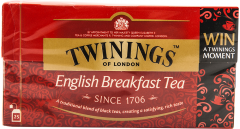 Ceai negru English Breakfast Twinings  25x2g