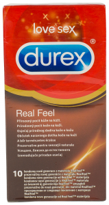 Prezervative Real Feel Durex 10buc