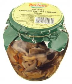 Amestec de ciuperci exotice murate Darinne 560g