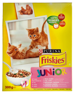 Hrana uscata pentru pisici Purina Friskies Junior 300g