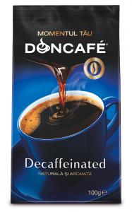 Cafea prajita si macinata Doncafe Decaffeinated 100g