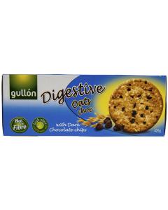 Biscuiti cu chipsuri de ciocolata neagra Gullon Digestive 425g