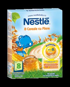 Cereale cu miere pentru sugari 8 luni+ Nestle 250g