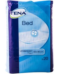 Aleze / Protectii pentru pat TENA Bed Plus, dimensiune 60x90, 20 bucati