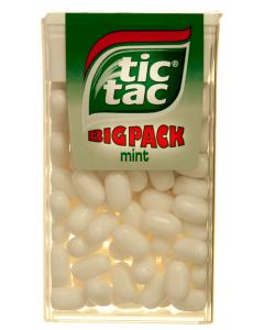 Drajeuri cu gust de menta Tic Tac 49g
