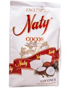 Napolitane cu cocos Naty 250g
