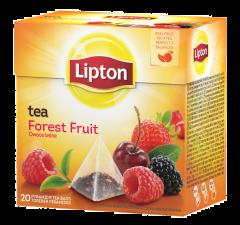 Ceai negru cu fructe de padure Lipton Forest Fruit 34g