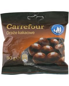 Drajeuri cu cacao Carrefour 80g