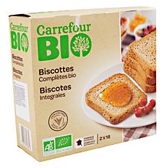 Biscuiti integrali Carrefour Bio 300g