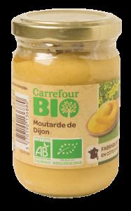 Mustar de Dijon bio  Carrefour Bio 200g