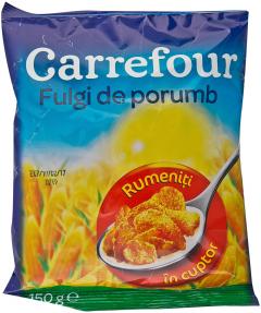 Fulgi de porumb rumeniti in cuptor Carrefour 150g