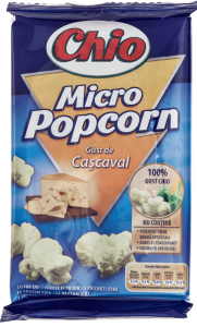 Popcorn microunde cu cascaval Chio 80g