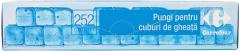 Pungi pentru cuburi de gheata Carrefour 252 cuburi