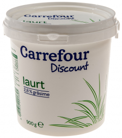 Iaurt Carefour Discount 2.8% grasime 900g