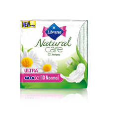 Absorbante Libresse Natural Care Normal 10 bucati