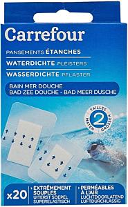 Pansamente rezistente la apa Carrefour 20buc