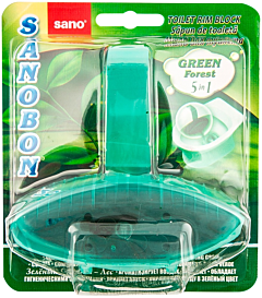 Odorizant WC solid Sano Bon Green Forest 5in1 55g