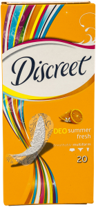 Absorbante Deo summer fresh Discreet 20 buc