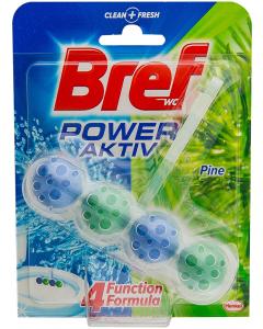 Produs de curatat toaleta Bref Power Aktiv Pine 50g