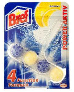 Odorizant WC cu parfum de lamaie Bref Power Aktiv 51g