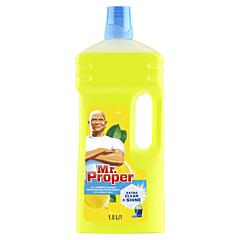 Detergent universal pentru podele Mr. Proper Lemon, 1,5 l