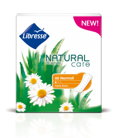 Absorbante zilnice Libresse Natural Care Normal 40 bucati