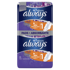 Absorbante Always Platinum Ultra Normal Plus, 16 buc