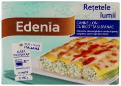 Cannelloni cu ricotta si spanac Edenia 400g