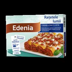 Cannelloni cu vita Edenia 400g