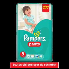 Scutece chilotei Pampers Pants 12-18 kg 48 buc