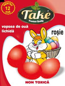 Vopsea lichida rosu Take 12oua