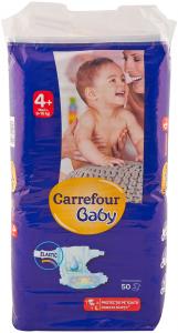 Scutece maxi 9-16 kg Carrefour Baby 50 buc