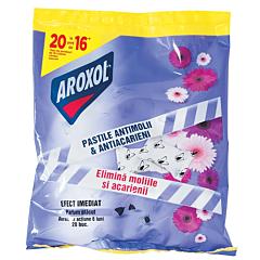 Pastile parfumate impotriva moliilor Aroxol, 20buc