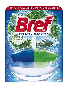 Produs de curatat toaleta Bref Duo Aktiv Pine 50ml