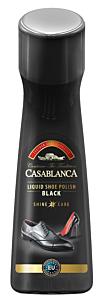 Crema lichida pentru pantofi Casablanca Negru, 75 ml