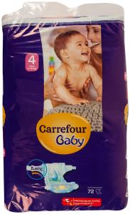 Scutece maxi 7-14kh Carrefour Baby 72buc