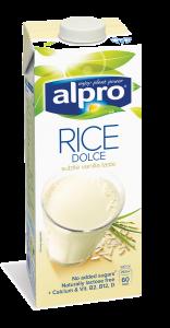 Bautura de orez cu aroma de vanilie Alpro Rice Dolce 1L