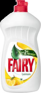 Detergent vase cu parfum de lamaie Fairy 450ml