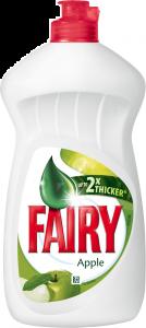 Detergent vase cu parfum de mere Fairy 450ml