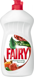 Detergent de vase Fairy Pomegranate & Red Orange, 450 ml