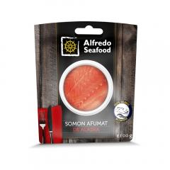 File somon salbatic afumat Alfredo 100g