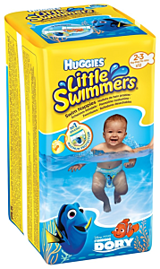 Scutece HLS Dory Little Swimmers nr 2-3 Huggies
