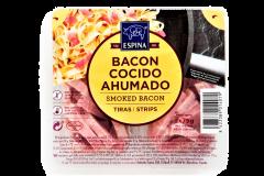 Bacon afumat cuburi Espina 2x75g